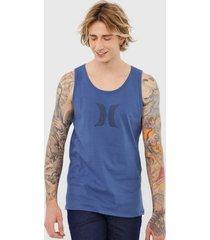 regata hurley icon azul - azul - masculino - dafiti
