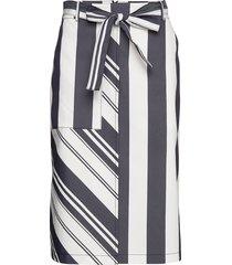 bryton knälång kjol multi/mönstrad boss
