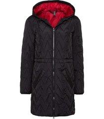 giacca con trapuntatura a zigzag (nero) - rainbow
