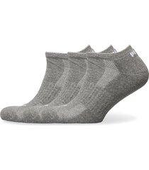 puma cushi d sneaker 3p unisex ankelstrumpor korta strumpor grå puma