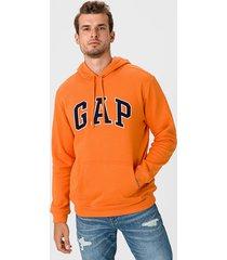 buzo naranja gap