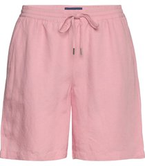 d2. summer linen short shorts flowy shorts/casual shorts rosa gant