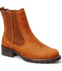orinoco club stövletter chelsea boot brun clarks