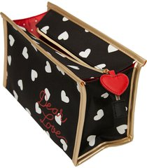 neceser mediano de estampado de corazones multicolor women secret 484714802tu