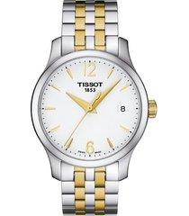 reloj tissot t-classic tradition t063.210.22.037.00 mujer