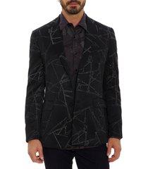 men's robert graham x marvel spider sense sport coat, size 38 - black