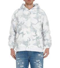dolce & gabbana camouflage print jacket