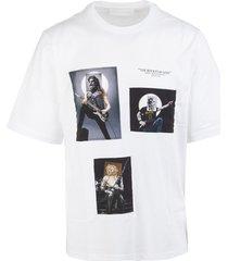white the rockstar gods man t-shirt