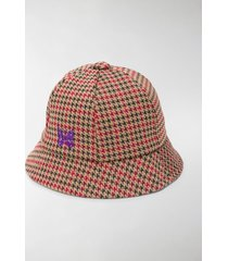 needles houndstooth bermuda hat