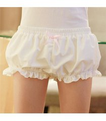 lolita women sweet bloomers underwear pumpkin shorts safety pants cosplay