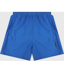 pantaloneta azul-negro adidas performance chelsea essentials plain