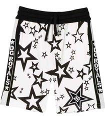 dolce & gabbana white bermuda shorts