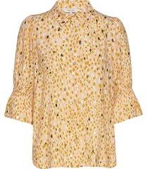 caiaspw sh blouse lange mouwen geel part two