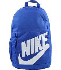 mochila azul nike elmntl