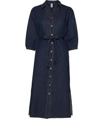 sc-killa jurk knielengte blauw soyaconcept