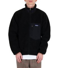 classic retro-x® fleece jacket - black