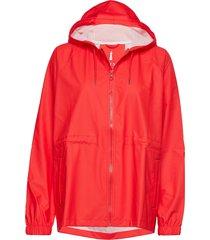 w jacket regenkleding rood rains