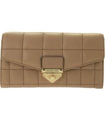 michael kors soho - shoulder wallet in leather