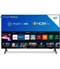 "smart tv philips 43"", full hd led 43pfg6825/78, wi-fi integrado"