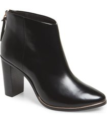women's ted baker london vaully bootie, size 10.5us - black