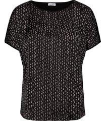 t-shirt short-sleeve t-shirts & tops short-sleeved svart gerry weber