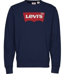 graphic crew b hm ssnl fill 2 sweat-shirt trui blauw levi´s men