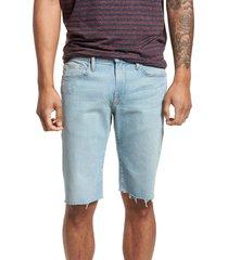 men's frame l'homme cutoff denim shorts