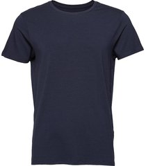 jbs of denmark, o-neck t-shirt underwear t-shirts short-sleeved blå jbs of denmark