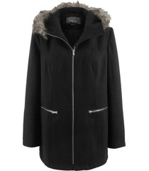 giacca in simil lana (nero) - bpc bonprix collection