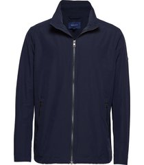 o1. the coast mid jacket dun jack blauw gant