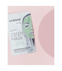 amaro feminino oceane máscara facial 2 etapas - dual-step mask, tea tree