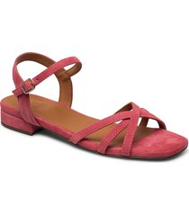 sandals 4025 shoes summer shoes flat sandals röd billi bi
