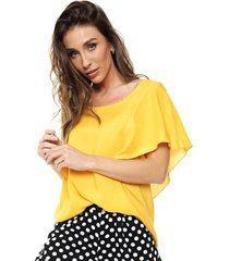 blusa amarilla miss bling moni
