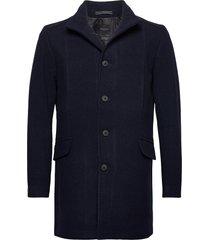 slhmorrison wool coat b noos wollen jas lange jas blauw selected homme