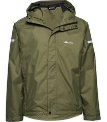 føyno 2-layer teachnical rain jacket outerwear sport jackets grön skogstad