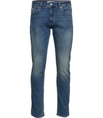 jeff premium blue slimmade jeans blå just junkies