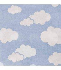 cobertor 0,90x1,10m alvinha ref.5940 / 5941 - minasrey-azul - azul - dafiti