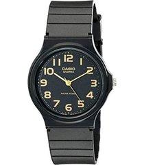 reloj analógico hombre casio mq-24-1b2 - negro