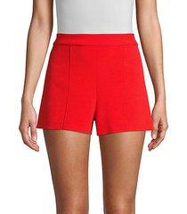 hera high-waist seamed shorts