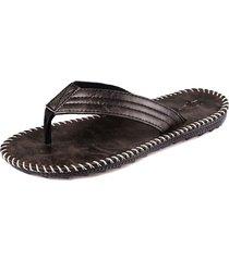 color de contraste de sandalias antideslizantes para