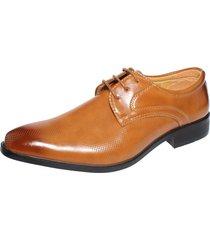 zapato formal café casatia