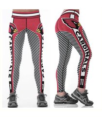cardinals leggings - #11 women fan gear - high quality - nfl arizona woman gift