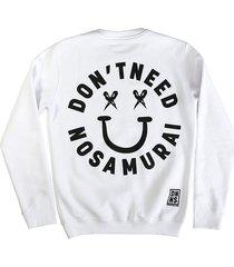 sweatshirt white smile