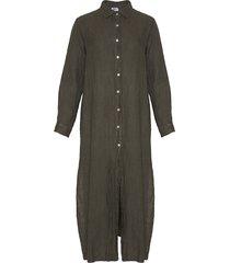 tiffany 181031 shirt/dress linen, dark army