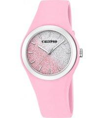 reloj k5754/3 multicolor calypso mujer trendy