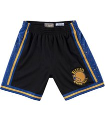 mitchell & ness golden state warriors men's rings shorts