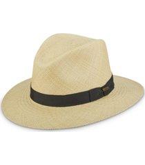 dorfman pacific men's bubble-top panama safari hat