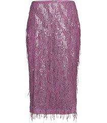 alpina skirt 12784 knälång kjol lila samsøe samsøe