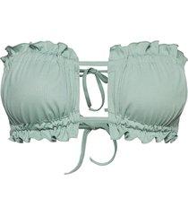 ashley bikini top bikinitop grön ow intimates