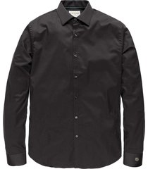 long sleeve shirt comfort satin black